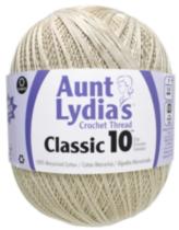 Aunt Lydia Classic Crochet Jumbo 153 Size 10