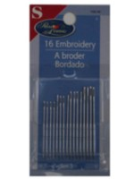 Embroidery hand needles, assorted sizes