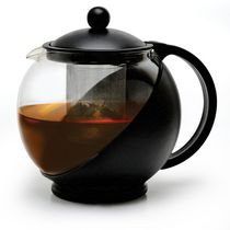 Today by Primula 40 oz. Half Moon Teapot