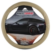 Alpena Steering Beige Leather Wheel Cover