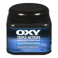 OXY® Medicated Acne Pads Triple Action 55
