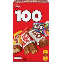 Minibarres de l'Halloween assorties NESTLÉ® Emballage de 100 (1,02 kg)