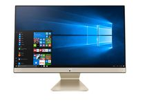 "ASUS AiO All-in-One M241 Desktop PC, 23.8"" FHD Anti-glare Display, AMD Ryzen 7 3700U Processor, Windows 10 Home, Kensington Lock"
