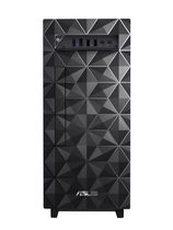 ASUS Desktop S300, Intel Core i5-10400 Processor, TPM, Windows 10 Home, Wired Keyboard & Mouse Included, Black