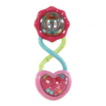 Bright Starts™ Pretty In Pink™ Rattle and Shake Barbell™