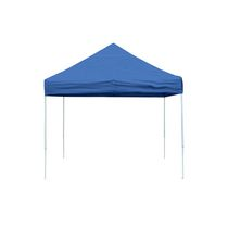 Pro 10  x 10  Blue Straight Leg Pop-Up Canopy