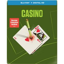 Casino (Limited Edition) (Steelbook) (Blu-ray + Digital HD)