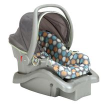 Siège d'auto à motif de point Ikat pour bébé Light N Comfy Elite de Cosco Juvenile