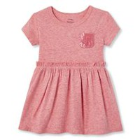 ed1fed06df2 George Baby Girls  Sequin Pocket Dress. Sizes 0-24 Months