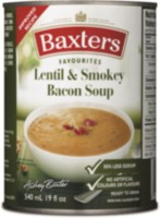 Baxters Favourites Lentil & Smokey Bacon Soup, 540 ml