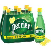 Perrier Eau de Source Naturelle Gazeifiee CITRON.