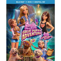 Barbie & Her Sisters In The Great Puppy Adventure (Blu-ray + DVD + Digital HD) (Bilingual)
