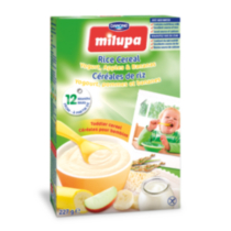 Milupa Toddler Cereal - Rice/Yogurt/Apples/Banana
