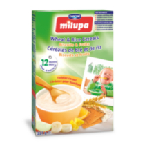 Milupa Toddler cereal - Wheat/Rice/Biscuits/Fruits