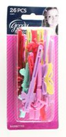 Goody Glam Girls Self Hinge Barrettes - Assorted