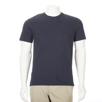 George Men's Short Sleeved Crewneck Cotton Tee Navy L/G
