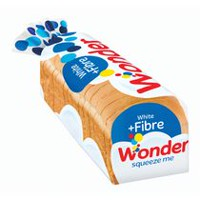 Wonder White + Fiber Sliced Bread