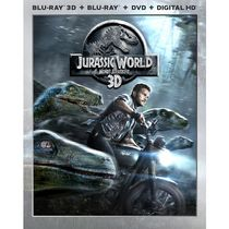 Jurassic World (Blu-ray 3D + Blu-ray + DVD + Digital HD) (Bilingual)