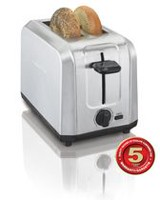 Hamilton Beach Brushed Stainless Steel  2 Slice Toaster