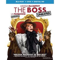 The Boss (Blu-ray + DVD + Digital HD) (Bilingual)