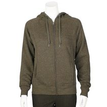Danskin Now Women's French Terry Hoodie Olive L/G
