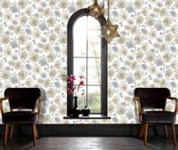 Graham & Brown Poppies Wallpaper Natural Begie