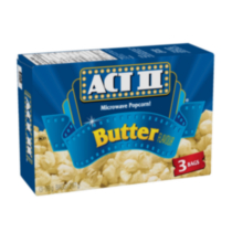 Act II Microwave Popcorn! - Butter Flavour