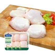 Prime Bone-In Chicken Thighs, Raised Without Antibiotics