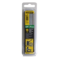 1000 clous de finition de 5/8 po/15 mm de Stanley (SWKBN625S)