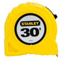 "30' x 1"" Stanley Tape Rule (30-464CP)"
