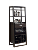 "Monarch Cappuccino 60""H Ladder Style Bar Unit"