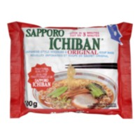 Sapporo Ichiban Japanese Style Noodles and Original Soup