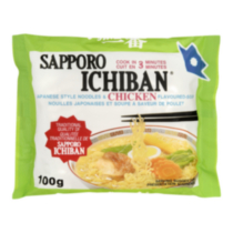 Sapporo Ichiban Japanese Style Noodles and Chicken Soup