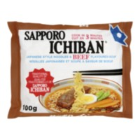 Sapporo Ichiban Japanese Style Noodles and Beef Soup