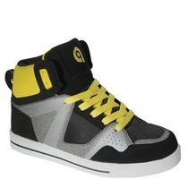 George Boys High Top Lace Up and Velcro Shoes 5