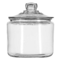 Anchor Hocking Heritage Hill Glass Jar