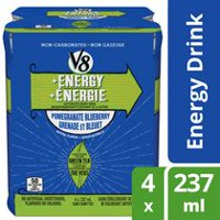 V8 + ENERGY™ Pomegranate Blueberry Caffeinated Energy Drink
