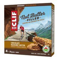 CLIF Bar Nut Butter Organic Chocolate Hazelnut Energy Bars