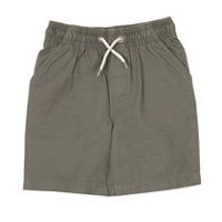 George Toddler Boys' Pull-On Shorts Grey 3T