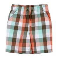 George Toddler Boys' Pull-On Shorts Green 3T