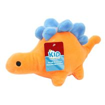 kid connection Orange Plush Dinosaur
