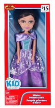 kid connection Winter Princess Doll, Purple