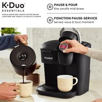 Keurig K-Duo Essentials Single Serve K-Cup Pod & Carafe Coffee Maker - image 5 of 9