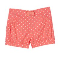 George baby Girls' Bubble Shorts Pink 12-18 months