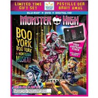 Monster High: Boo York, Boo York (Blu-ray + DVD + Digital HD + Keepsake Pouch) (Walmart Exclusive) (Bilingual)