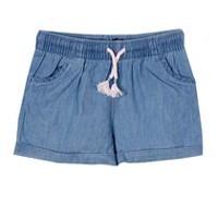 George Toddler Girls' Pull-On Shorts Blue 3T