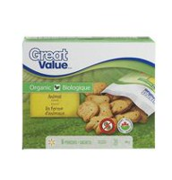 Biscuits en forme d'animaux Biologique de Great Value