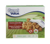 Great Value Organic Cinnamon Graham Bear Cookies