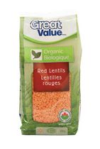 Great Value Organic Red Lentils