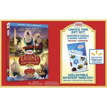 Thomas & Friends: Sodor's Legend Of The Lost Treasure - The Movie (Blu-ray + DVD + Digital HD + Mini-Toy) (Walmart Exclusive)